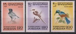 JORDANIE - N°675/7 ** (1970)  OISEAUX / BIRDS - Jordanien