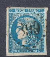 N°46A BORDEAUX - 1870 Emissione Di Bordeaux