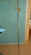 2007  épée à Clavier 19° Siécle Voir Description Vente Retirée Le 07-03 - Armes Blanches