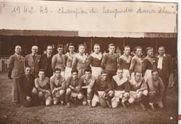 Rugby Photo 11 Sur 16 1942 1943 Champion Du Languedoc Division Honneur , Photo Farreror - Rugby
