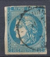 N°46B BORDEAUX NUANCE - 1870 Emissione Di Bordeaux