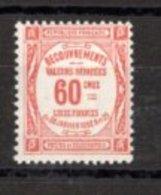 France 1908-1925  Taxes N°48 Neuf Sans Charnière - 1859-1955 Mint/hinged