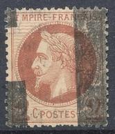 N°26 OBLITERATION TYPO - 1863-1870 Napoleone III Con Gli Allori