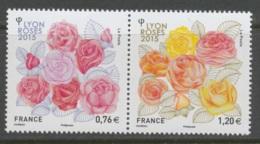 2015 - 4957-4958 DYPTIQUE - Congrès Mondial Des Sociétés De Roses 2015 à Lyon - Francia