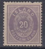 +M164. Iceland 1875. AFA 10. MNH(**) Defective! - Nuevos