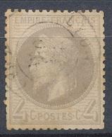 N°52 NUANCE ET OBLITERATION. - 1863-1870 Napoléon III. Laure