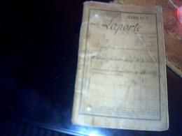 Livret Militaire B Etat Escadron De Train Régiment De (zouave De Mustapha & 143eme Infanterie) D Un Appelé Classe 1889 - Documentos
