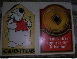 Les Auto-collants De Tintin N°19 CUBITUS - Autocollants