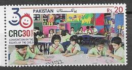 PAKISTAN, 2019, MNH, CHILDREN, CONVENTION ON THE RIGHTS OF CHILDREN,1v - Childhood & Youth