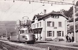 906/ Klus, Station Met Trein, Photoglob Wehrli - SO Solothurn