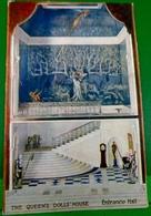 CPA TUCK OILETTE LA MAISON DE POUPEE DE LA REINE . LE HALL D ENTREE . THE QUEEN'S DOLLS' HOUSE ENTRANCE HALL . STAIRS - Jeux Et Jouets