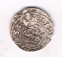 SCHILLING  1653  LIVONIA LETLAND /1202/ - Lettonie