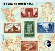 BLOC   CNEP  - N° 41  -    2004 -  SALON DU TIMBRE   PARIS  -  NEUF - - CNEP