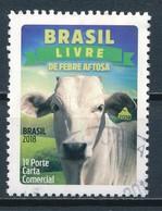 °°° BRASIL - LIVRE DE FEBRE AFTOSA - 2018 °°° - Brasile