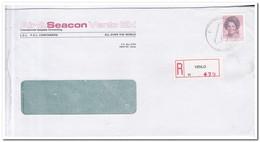 Aangetekende Brief 1986, Tegelen, Air & Seacon Venlo Bv - Period 1980-... (Beatrix)