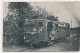 Rare Chemin De Fer Conducteur Chef De Train 1927 E. Barbarat Dammartin En Goele - Professions
