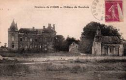 CPA - JUGON - Environs De ... CHATEAU De BEAUBOIS - Edition Bourget - Jugon-les-Lacs
