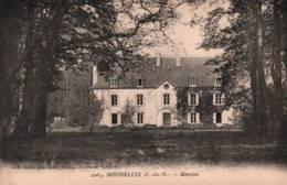 CPA - GOUDELIN -  CHATEAU - MONTJOIE - Edition J.B. Barat - Autres Communes
