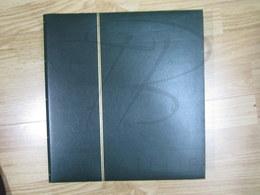 VEND BEL ALBUM YVERT & TELLIER , VERT , 60 PAGES A BANDES A FONDS NOIRS !!! (f) - Albums à Bandes