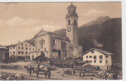 Tinzen Im Oberhalbstein - Schöne Animation - 1915    (P-217-90409) - GR Grisons