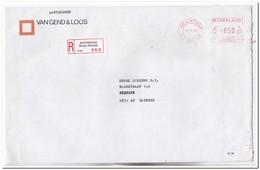 Aangetekende Brief 1986, Van Rotterdam ( Brede Hilledijk ) Naar Boxmeer, Van Gend & Loos - Period 1980-... (Beatrix)