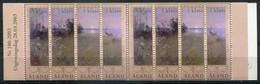 Finnland Alandinseln Mi# MH 11 Postfrisch MNH - Paintings - Aland