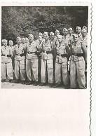 Orig Photo All WW2 : Soldats , Tenue Tropicale . AFRIKA-KORP - 1939-45