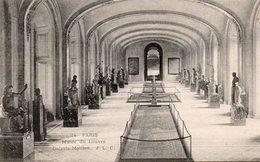 CPA PARIS - MUSEE DU LOUVRE  - GALERIE MOLLIEN - Musei