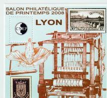 BLOC   CNEP  - N° 50  -    LYON -  SALON DE PRINTEMPS 2008  -  NEUF - - CNEP