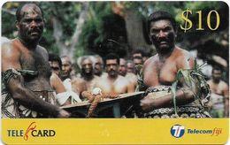 Fiji - Telecom Fiji - Traditional Fiji, Tanoa, Cn.99108, Remote Mem. 10$, Used - Fiji