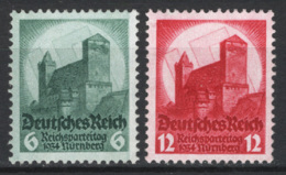 Germania Reich 1934 Unif. 511/12 **/MNH VF/F - Unused Stamps