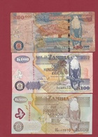 Zambie 3 Billets Dans L 'état Lot N °7----(195) - Zambie
