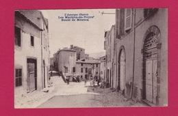 63 - LES MARTRES DE VEYRE - Route De Monton - France
