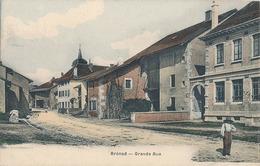 BRENOD - GRANDE RUE - Autres Communes