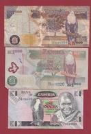 Zambie 3 Billets Dans L 'état Lot N °9----(197) - Zambie