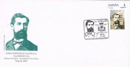 35787. Carta RIPOLL (Gerona) 2007. TU SELLO, Aniversario De Prensa. Josep Mª Pellicer - 1931-Hoy: 2ª República - ... Juan Carlos I