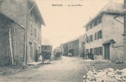 BRENOD - LA GRAND'RUE - France