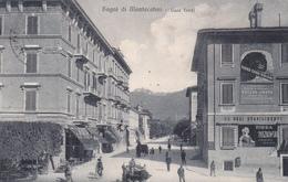 MONTECATINI TERME - PISTOIA - MANIFESTO PUBBLICITARIO BIRRA PASZKOWSKI / FERRO CHINA BISLERI / ACQUA NOCERA UMBRA - 1926 - Pistoia