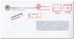 Aangetekende Brief 1986 Lekkerkerk, Rovegrha Bv In- En Verkoop Van Grondstoffen - Period 1980-... (Beatrix)