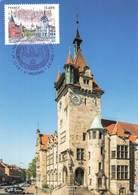 67 Haguenau Carte Maximum Musée Historique Cachet Premier Jour + Timbre Fondation 1115 2015 - Haguenau