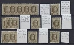 191-V** Luppi : Une Trentaine De Variété Sur Cette Valeur, 1 Ou Plusieurs Du Même Type,  Beau Choix !! - Errors (Catalogue Luppi)