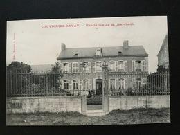 CPA Louvignies Bavay Habitation De M Marchant - Bavay