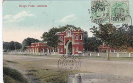 4812192Ambala, Kings Hotel. – 1911. (see Corners, See Sides) - Inde