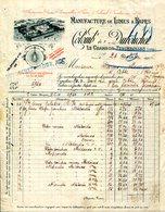 42.LOIRE.LE CHAMBON FOUGEROLLES.MANUFACTURE DE LIMES & RAPES.COLOMB & DOUBOUCHET..( P.J ) - Non Classés