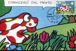 51452 San Marino,  Maximum 1997   Comics,  Fumetti,  Francesco Tullio Altas - Comics
