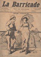 (anarchie) Revue LA BARRICADE N°13 Ns Septembre 1913 : Dos-ville (Deauville !) Dessin Auglay  (FGF 401) - Books, Magazines, Comics