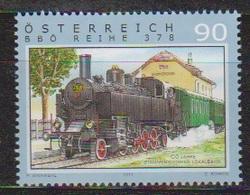 """Österreich 2011:  """"Eisenbahnen"""" Postfrisch (siehe Scan/Foto) - 2011-... Usados"""