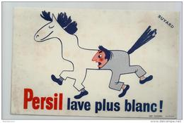 Buvard - Persil Lave Plus Blanc - Wash & Clean