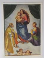 Weihnachten, Heilige, Sixtinische Madonna, Raffael, 1950 ♥ (11935) - Christmas