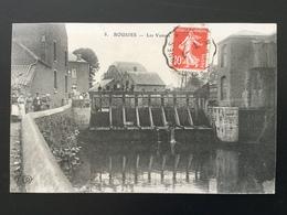 CPA Du 7 Juillet 1908 Rousies Les Vannes Et Nombreux Personnages - France